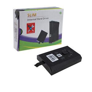 XBOX 360 Slim 250GB Hard Drive Internal DISC Microsoft