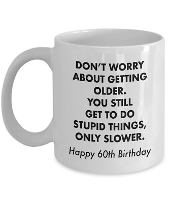 60th Birthday Gifts For Men 1961 Funny Birthday Gifts For 60 Year Old Women Ebay