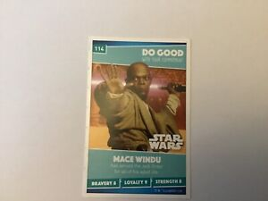 Non Sport Trading Cards Mace Windu 114