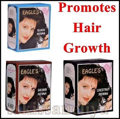 Eagle S Henna Color Hair Dye Henna Hair Promotes Hair Growth 6 Packs Of 10g Ebay