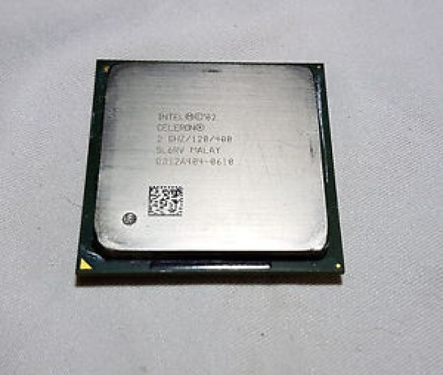 Image Is Loading Intel Celeron  Ghz 128 400