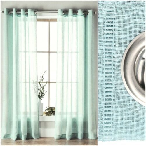 curtains drapes better homes gardens 1 sheer hemstitch grommet curtain panel 50 x 84 inch one home furniture diy coccinelli de