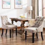 Skyline Furniture Tufted Dining Chair Set In Velvet For Sale Online Ebay