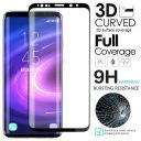 2x For Samsung Galaxy S9 S8 Plus Full Cover 3D Tempered Glass Screen Protector