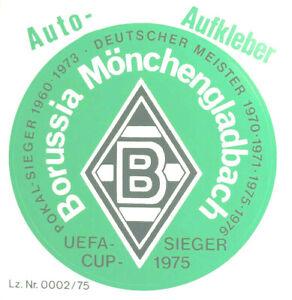 borussia m gladbach aufkleber logo
