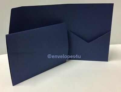 Matte 300gsm Pocketfold Invitations