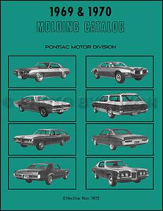 19691970 Chrome Trim Molding Catalog Trans Am Firebird GTO Tempest LeMans Judge | eBay