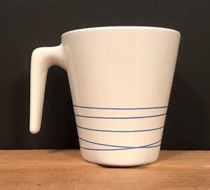 details sur ikea hurrig bleu blanc cafe the cacao tasse latte tasse l stick poignee 15199 afficher le titre d origine