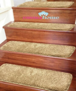 Shaggy Glittter Non Slip Machine Washable Stair Treads Mat Rug   Washable Non Slip Stair Treads   Carpet Stair   Skid Resistant   Rubber Backing   Nova Morrocan Washable   Removable Washable