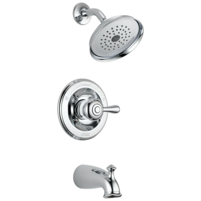 delta leland 14478 shl monitor 14 series tub and shower trim chrome not ca vt compliant