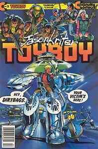 TOYBOY # 2 - COMIC - 1987 - 8.5