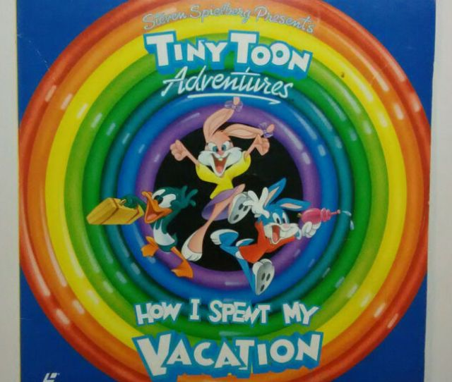 Tiny Toon Adventures How I Spent My Vacation Laserdisc Ld 1992 Movie Vintage 90s