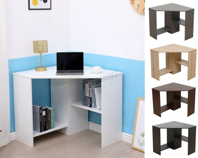 Awesome Westwood Pc Computer Desk Corner Wooden Desktop Table 2 Beutiful Home Inspiration Xortanetmahrainfo