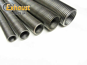 details about 1 88 48mm x 1m exhaust flexible stainless steel flexi tube exhaust pipe 1 7 8