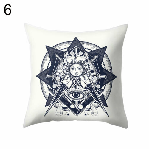 bicycle compass forest moon throw pillow case cushion cover home office decor home decor indian south asian home decor pillows