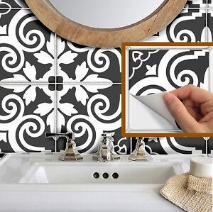 details about tile stickers waterproof removable backsplash bathroom vinyl b173b