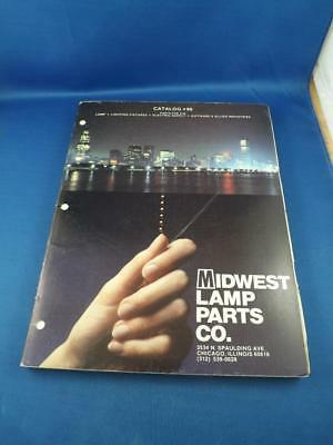 midwest lamp parts co catalog lighting fixtures electric supply 1986 advertise ebay