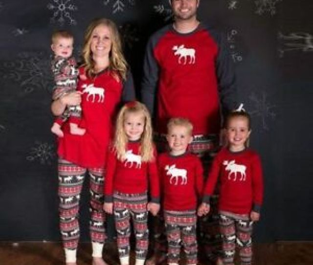 Image Is Loading Xmas Family Christmas Pajamas Set Womens Men Kids