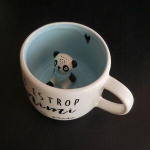 details sur tasse ceramique faience mimi panda maisons du monde design xxe france n6633