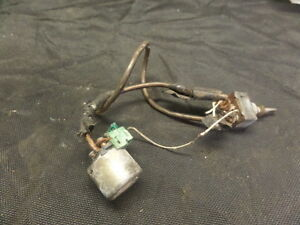 1988 HONDA GL1500 GOLDWING STARTER SOLENOID AND SWITCH