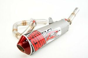 details about big gun evo r full exhaust pipe muffler kawasaki klr 250 all years