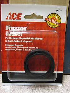 details about ace hardware 49141 disposer gasket fits in sink erator free shipping rwpegs