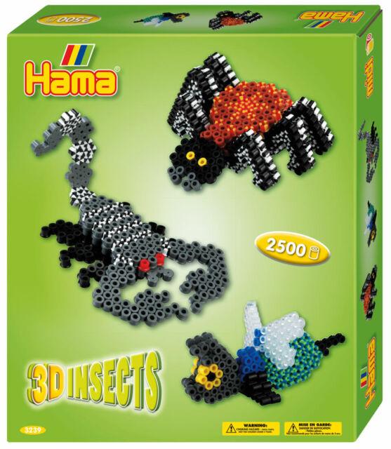 Hama Midi 3133 Bugelperlen Set Fleissige Tiere Geschenkpackung