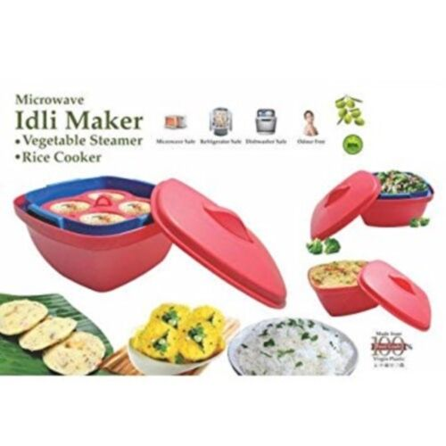 kochen geniessen easy quick microwave idli cooker rice cake microwave steamer tray mobel wohnen freezer labels com