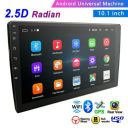 "10.1"" 2 Din Android 8.1 Tempered Glass 2.5D GPS Navi Bluetooth Car Stereo Radio"