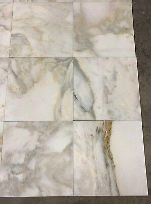 gold cream glacier marble natural stone tile 18 x18 floor 6 pieces ef 28 727542377918 ebay