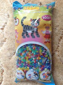 La Manuli 10000 Bugelperlen Von Hama Beads Kompatibel Glitzer