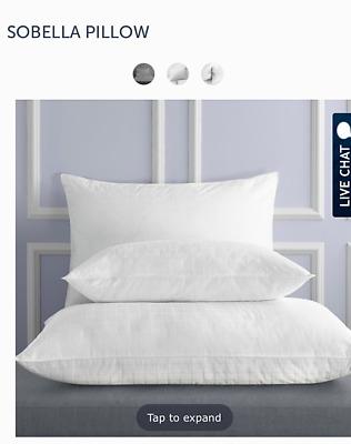 1 sobella standard pillows 20 x26 medium to firm ebay