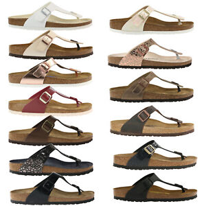 Birkenstock Gizeh Shoes Sandals Toe Separators Womens Narrow And Normal Ebay