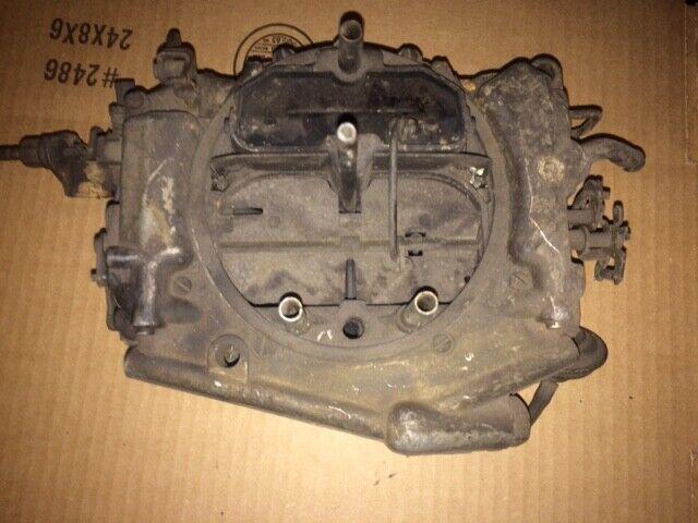 Cars Carburetor Came Carter 4 Barrel
