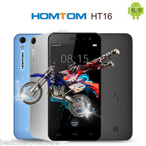 Homtom HT16 Android 6.0 5.0 inch 3G Smartphone MTK6580 Quad Core 1.3GHz 1GB 8GB