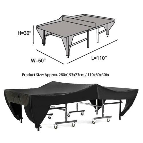 etanche table tennis ping pong impermeable de protection jardin exterieur housse sports vacances tennis de table ping pong