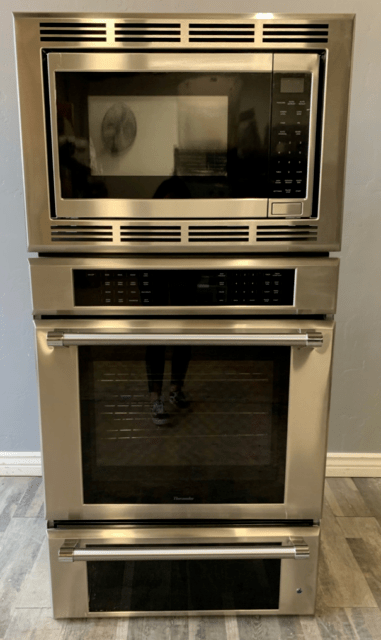 thermador masterpiece series medmcw31jp 30 inch stainless steel triple oven