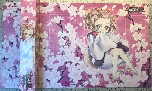 playmat tapis de jeu konami yu gi oh ash blossom ccg supplies accessories ccg playmats
