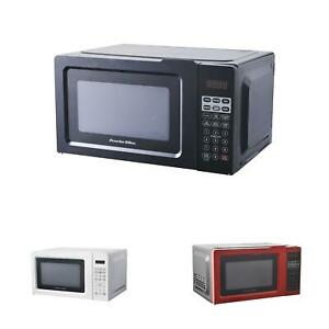 details about small mini microwave oven office apartment travel digital compact counter cooker