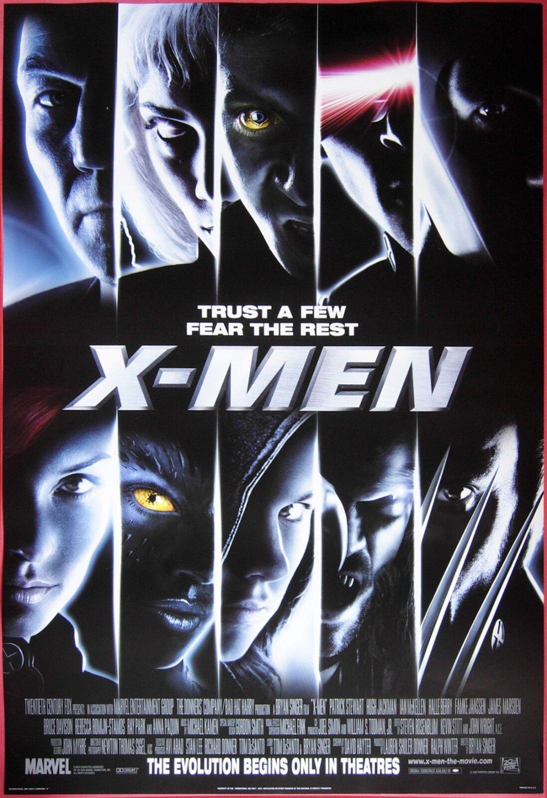 Image result for x-men 2000 poster
