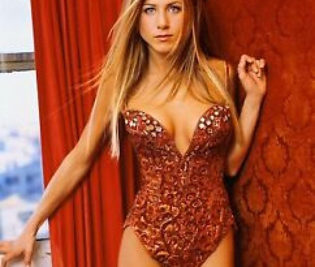 Image Is Loading Jennifer Aniston Sexy Friends Actress X