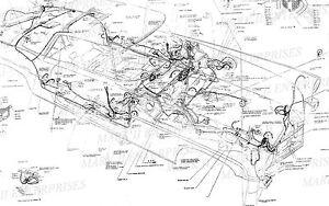 19561957 LINCOLN MARK II MKII MK II WIRING & VACUUM