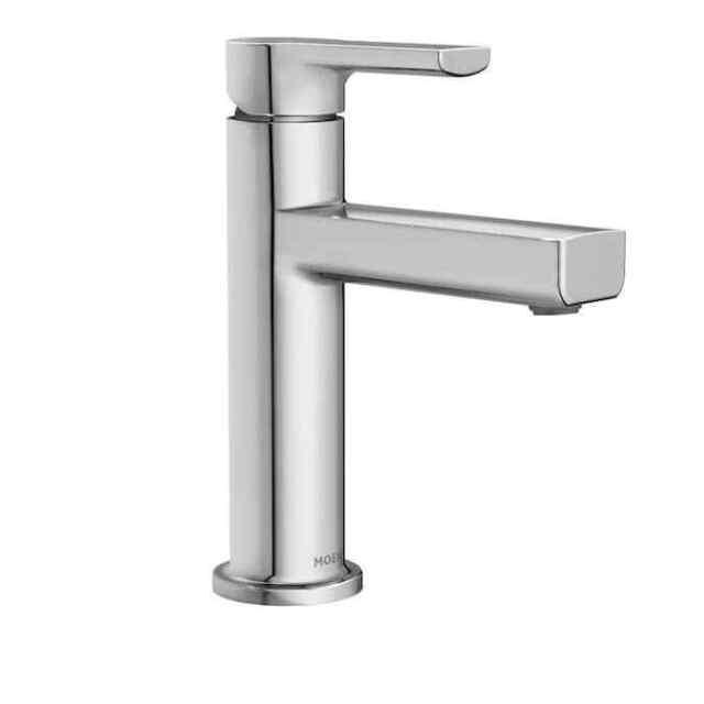 moen rinza 84627srn spot resist 1 handle bathroom sink faucet with drain