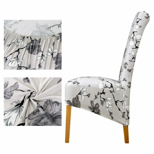 furniture xl size long back chair covers fleece fabric seat cover home dining decorations slipcovers
