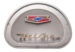 1957 57 Chevrolet Belair Steering Wheel Horn Center Emblem