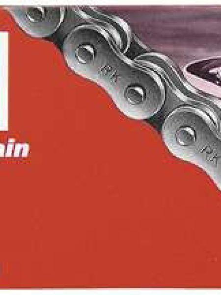 catena trasmissione moto cross enduro Rk passo 520 120 maglie nero offroad SX CR