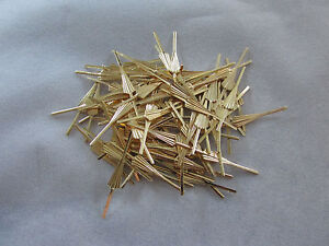 Image Is Loading 200 Arrow Connector Pins 33 Mm Brass Chandelier