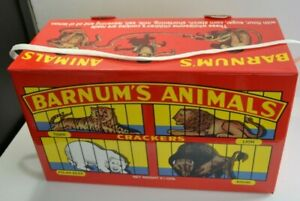details about nabisco animal crackers giant promotional box advertising circus barnums 19x11x8