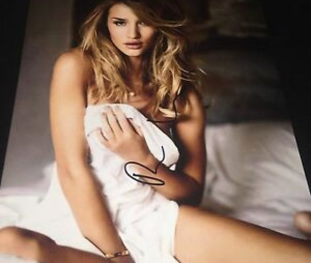 Image Is Loading Rosie Huntington Whiteley Nude Covered By Blanket Hand