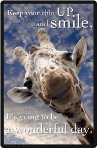 Funny Giraffe Humor Have A Wonderful Day Refrigerator Magnet Ebay